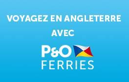 Voyagez en Angleterre avec P&O Ferries
