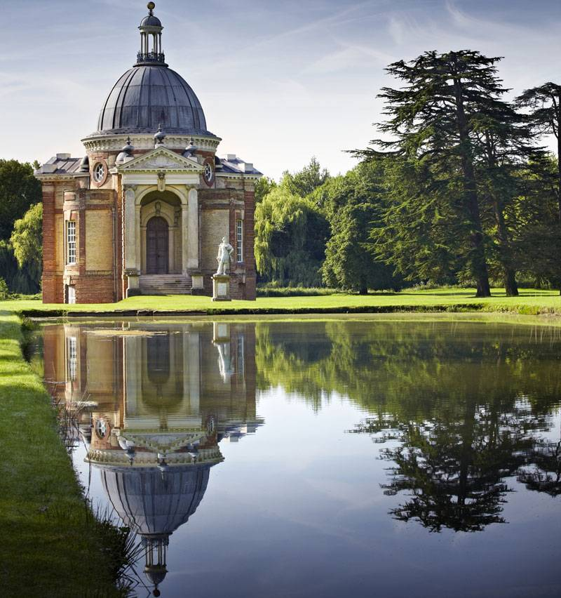 A beautiful shot of the gardens at Wrest Park