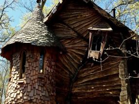 10 unusual campsites in England - Blackberry Wood treehouse