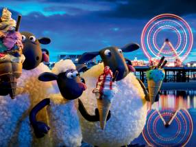 Shaun the Sheep and the Flock in Blackpool