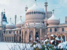 Brighton Pavilion in the snow