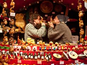 Find Christmas markets in England