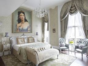 Cora Pearl Suite in London's Grosvenor Hotel - weekends away for couples