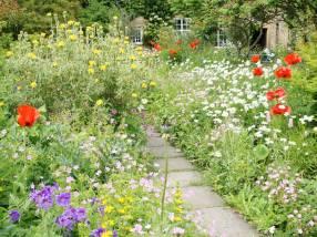 Crook Hall Gardens, England