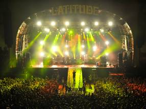 Elbow performing at Latitude Festival