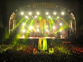 Elbow performing at Latitude Festival