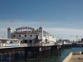 Brighton Palace Pier, Brighton, East Sussex, England.