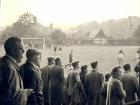 Sheffield FC v Hallam FC in 1860