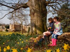 Easter at Hever Castle in Kent