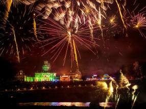 Kaboom at Castle Howard