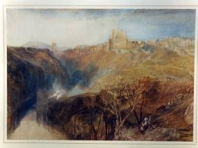 Knaresborough Castle by J.M.W. Turner. Courtesy of Gloucester Museum