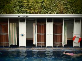 Bristol Lido. Dating back to 1849, it's one of the oldest in the UK. Copyright: Katie Rowe