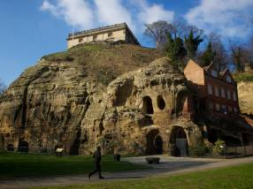 Nottingham Castle and Caves