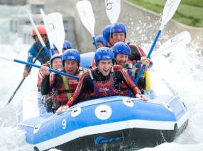 White Water Rafting, Lee Valley White Water Centre