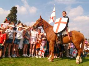 St George's Day at Wrest Park