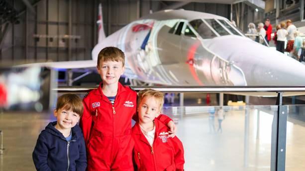 Step aboard Concorde at Aerospace Bristol