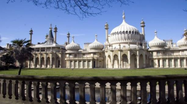 The Royal Pavilion in Brighton.