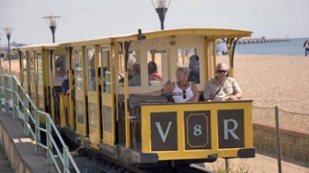 The Volks Electric Railway in Brighton.