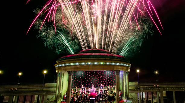 Tchaikovsky's 1812 Overture Concert with fireworks at Eastbourne Bandstand