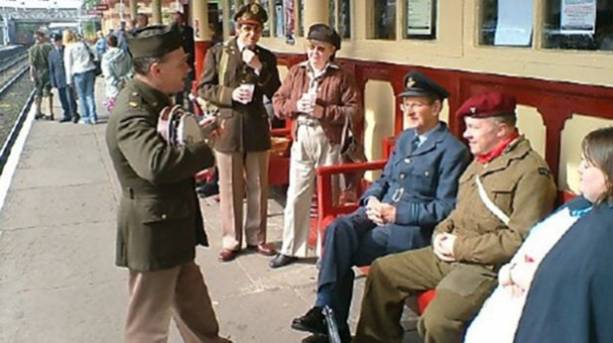 1940s Wartime festival at ELR Lancashire