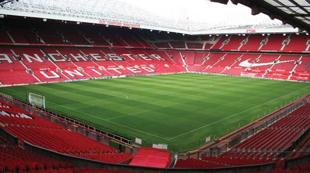 Manchester United pitch