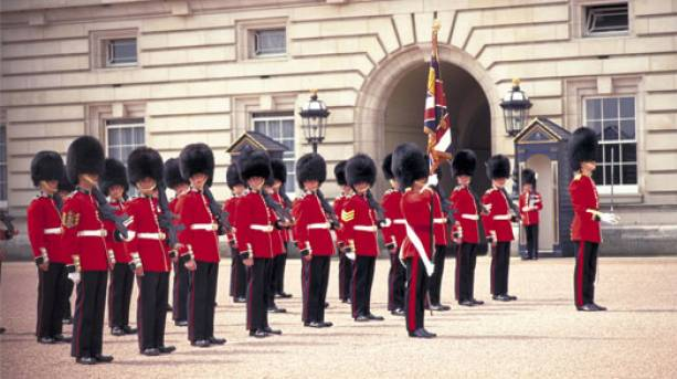 Changing of the Guard, London.