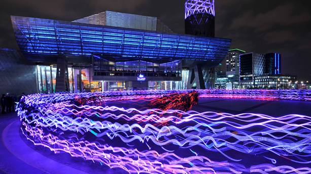 Speed of Light event at The Quays