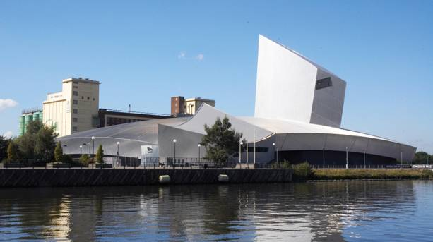IWM North, part of the Imperial War Museum collection at The Quays