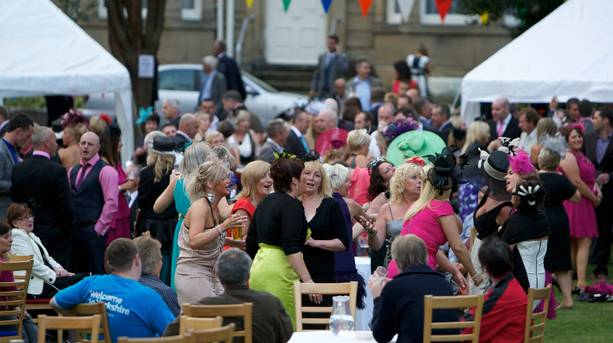 Live opera in Doncaster's town centre during Race Week