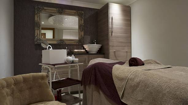 Treatment Room at the Mill Wheel Spa