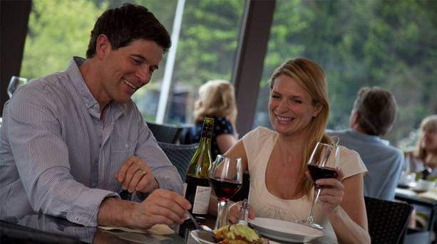 Enjoy a meal in the Foresters bar and restaurant