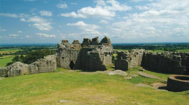Beeston castle Ruins, Cheshire