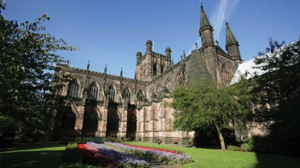 View of Chester Cathedral