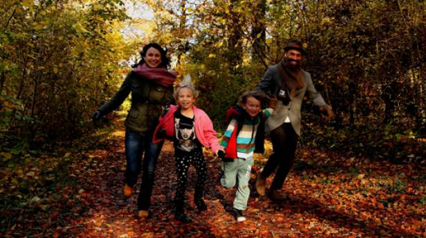 Exploring the forests on Nene Valley
