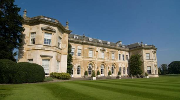 View across the lawn towards Hartwell House, Buckinghamshire
