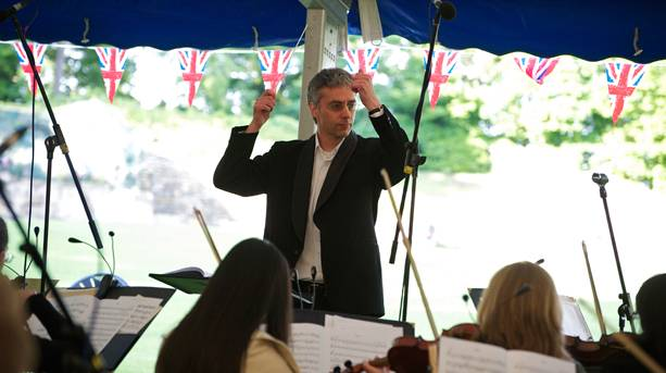 Proms at Pontefract Castle