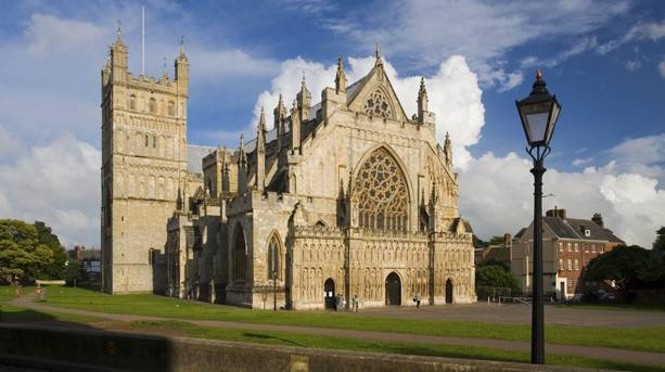 Fall In Love With Exeter Cathedral Visitengland