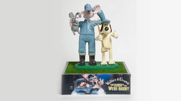 Wallace and Gromit by Aardman Animations