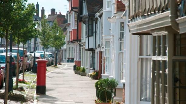 Abbey Street in Faversham