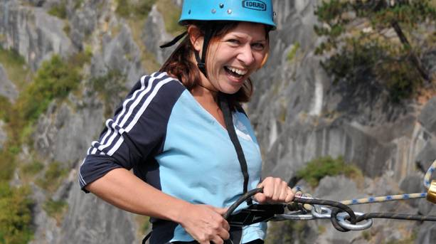 Abseiling at Avon Gorge