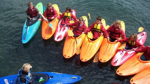 Kayaking in Plymouth