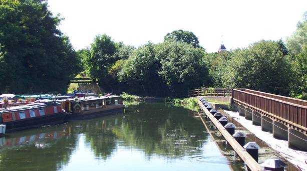 Walking and cycling routes in Hertford