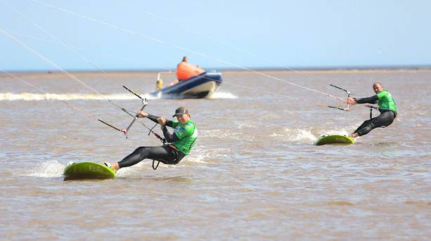 Steph Bridge in the Annual Edge Race Cup, Exmouth