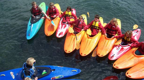 Adventure Canoes in Plymouth