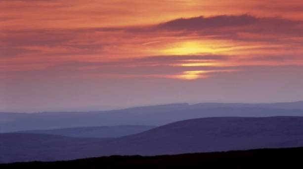 Pennine Way in Northumberland