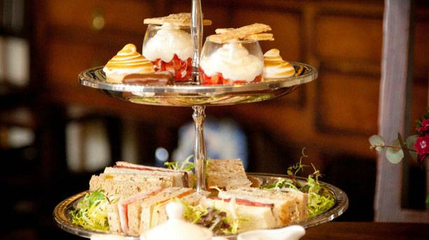 Afternoon tea at Holdsworth House