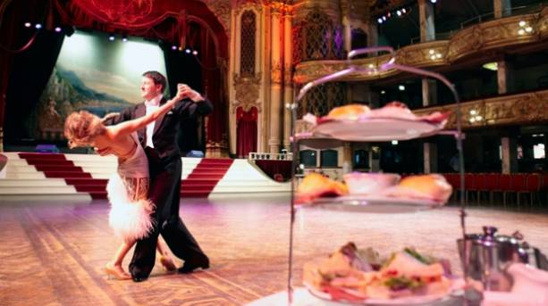 Ballroom dancing and afternoon tea at Blackpool Tower Ballroom