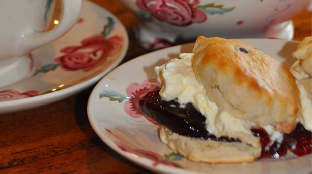A luxury cream tea at Ponden Hall