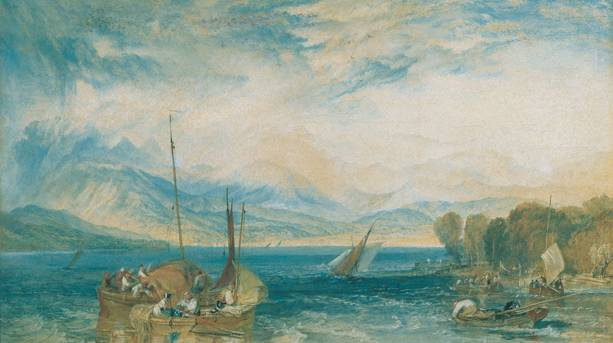 JMW Turner at Abbot Hall Art Gallery