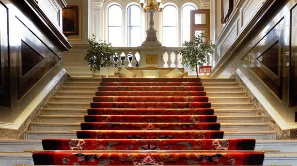 The Grand Staircase, Alnwick Castle.